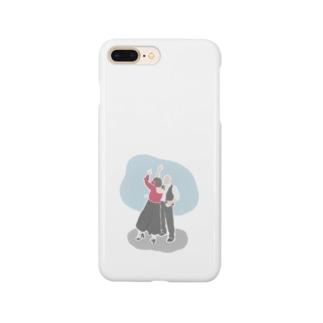 フラメンコ踊るおじいちゃんおばあちゃん Smartphone cases
