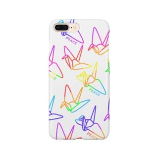 PEACE-平和への祈り-レインボー Smartphone cases