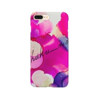 朝顔 Smartphone cases