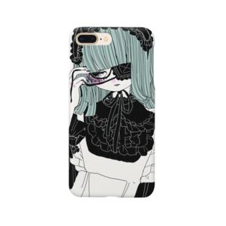 緑のお嬢さま Smartphone cases