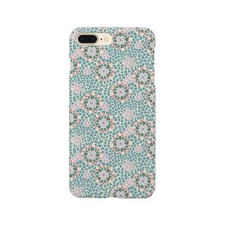 モザイク柄 Smartphone cases