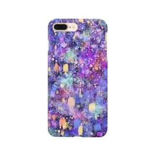 夢幻夜空 Smartphone cases