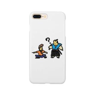 タイムトラベル お侍とヤンキー Smartphone cases