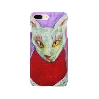 お狐さま Smartphone cases