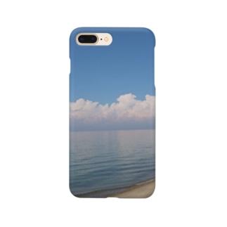 沖縄気分になれる海! Smartphone cases