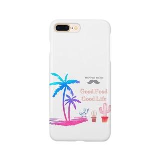 Me.Perez's LOGO 南国🌴STYLE White Smartphone cases