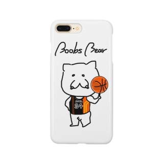 Boobs Bear バスケ Smartphone cases