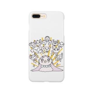 ぴかんとあまびえさん Smartphone cases