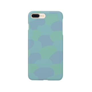 緑と青 Smartphone cases