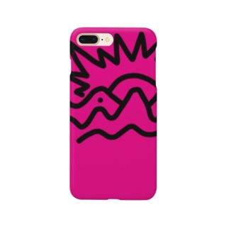 金の山(柄違い) Smartphone cases