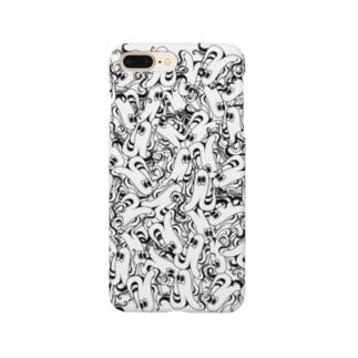 侵略ウィンナー Smartphone cases