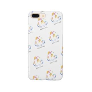 かき氷 Smartphone cases