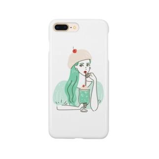 CREAM SODA GIRL Smartphone cases