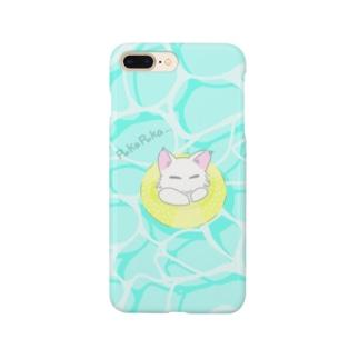 ぷかぷかネコチャン Smartphone cases
