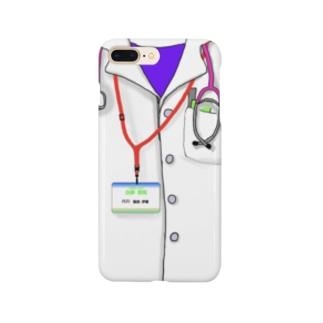日本小児科医 内科医師の気分でシャキッ! Smartphone cases