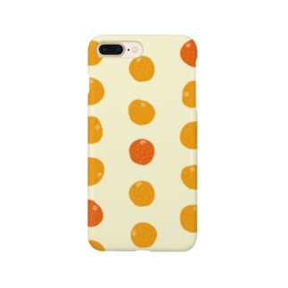 3つのオレンジが、濃い。 Smartphone cases