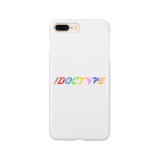 !DOCTYPE ロゴ Smartphone Case