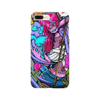 ゾンビガール スマホケース Smartphone cases