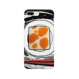 ラー油がかった豆腐 Smartphone cases
