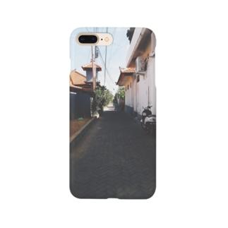 バリの散歩道 Smartphone cases