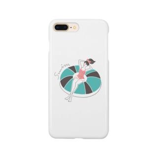 SWIM GIRL Smartphone cases