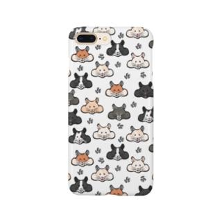 顔面ハムちゃん Smartphone cases