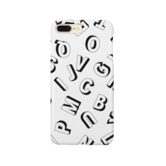 アルファベット Smartphone cases
