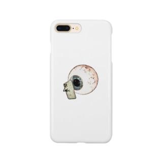 夜更かしの眼 Smartphone cases