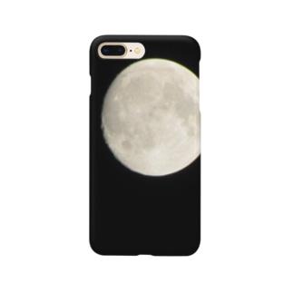 一眼レフによる月 Smartphone cases
