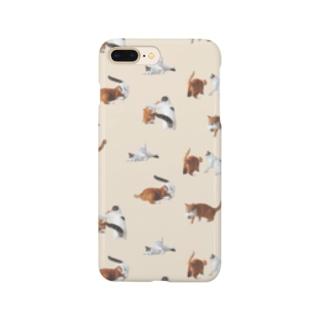 ナナポンファイトスマホケース(ベージュ) Smartphone cases