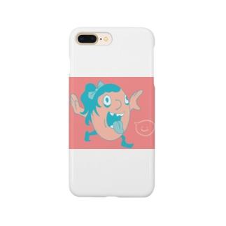 テンションあげぽよモンスター Smartphone cases
