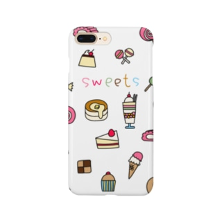 お菓子イラストsweets Smartphone cases