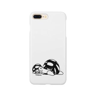 かめきち&ちびきち Smartphone cases