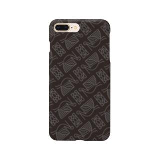 #鶴亀 柄 Smartphone cases