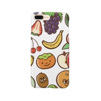 フルーツの集まり Smartphone cases
