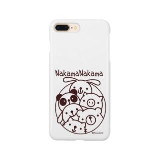 仲間ナカマ Smartphone cases