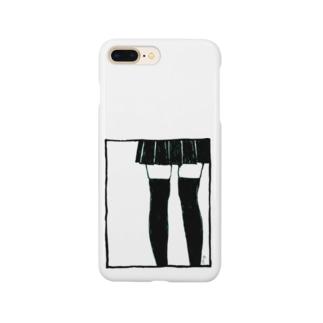 絶対領域 Smartphone cases