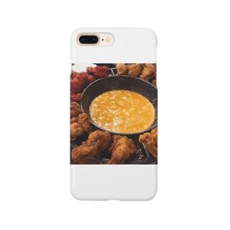 飯テロ・UFOチキン Smartphone cases