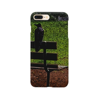 Chill Crow Alt.version Smartphone cases