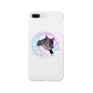 キラキラメルルーサ夢子 Smartphone cases