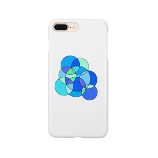 夏のステンドグラス Smartphone cases