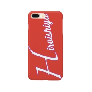 広島カープ風 広い視野 Smartphone cases