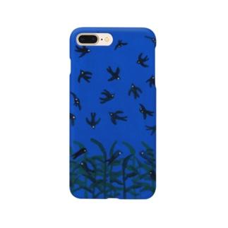 ツバメのねぐら入り Smartphone cases