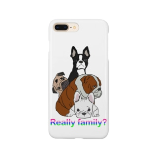 ん?家族? Smartphone Case