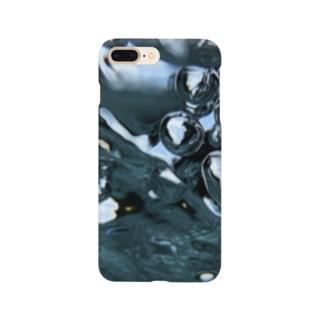 Akroworksの徳島の青【穴吹水中】 Smartphone cases