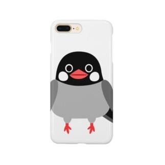 文鳥 Smartphone cases