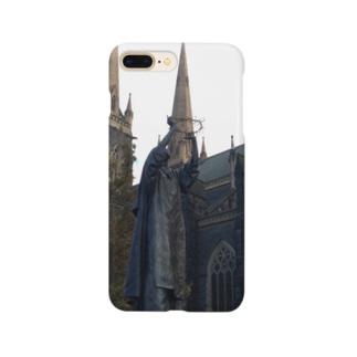 旅人の木@蒼也の教会(フォト) Smartphone cases