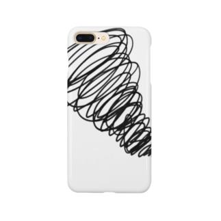 グルグルする感情 Smartphone cases