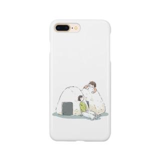ふたごとおにぎり Smartphone cases