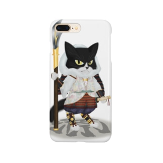 源平戯画 : 武蔵坊弁慶 Smartphone cases